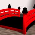 Download 3D printer files Japanese bridge, Ukiyograph