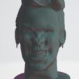 Download 3D printing models Pink High Poly Bust, Ukiyograph