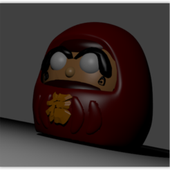 Download 3D model Daruma, Ukiyograph