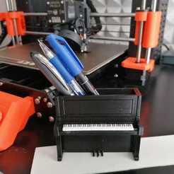 Télécharger plan imprimante 3D gatuit Porte-outils pour piano, SimDev