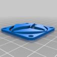 Télécharger objet 3D gratuit Couverture du ventilateur de l'imprimante Cetus 3D, SimDev