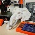 Télécharger plan imprimante 3D Tête d'éléphant, SimDev