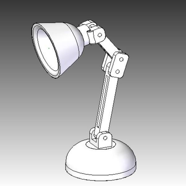 lamp2.jpg Download free STL file Mini LED Lamp • 3D printable design, infrafox