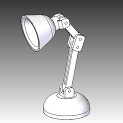 lamp2.jpg Download free STL file Mini LED Lamp • 3D printable design, infrafox