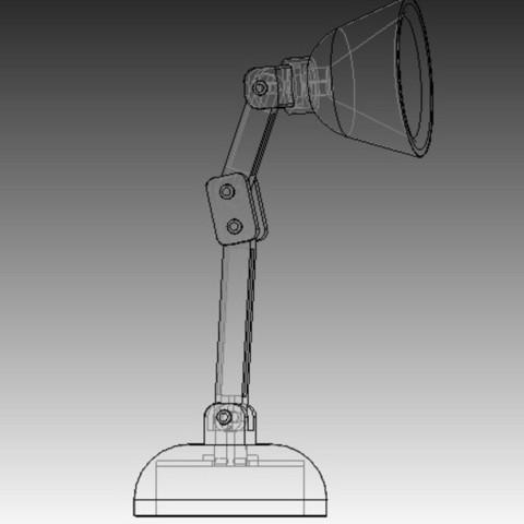 lamp1.jpg Download free STL file Mini LED Lamp • 3D printable design, infrafox