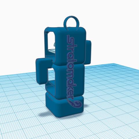 Stratomaker 2.PNG Download free STL file Mascot Stratomaker • 3D printing template, MattMajestic7
