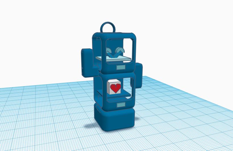 Stratomaker 1.PNG Download free STL file Mascot Stratomaker • 3D printing template, MattMajestic7