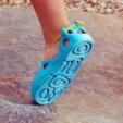 Modelos 3D gratis Lace-Up Sandalias 3D (Para Niños), Ignacio