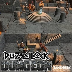3D printing model PuzzleLock Dungeon, Zandoria