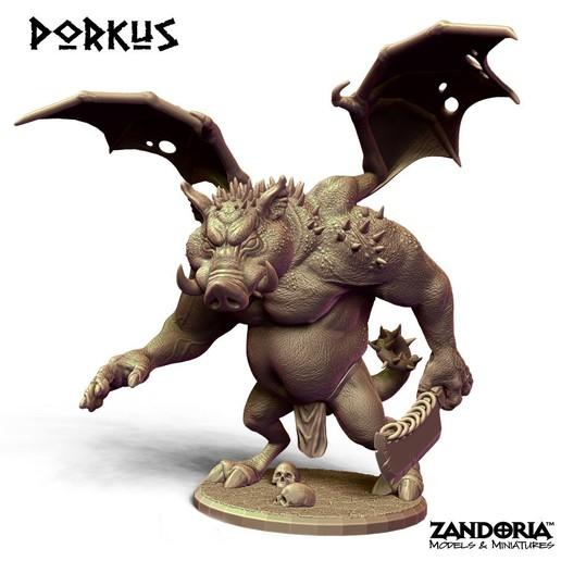 Download 3D model Porkus, Zandoria