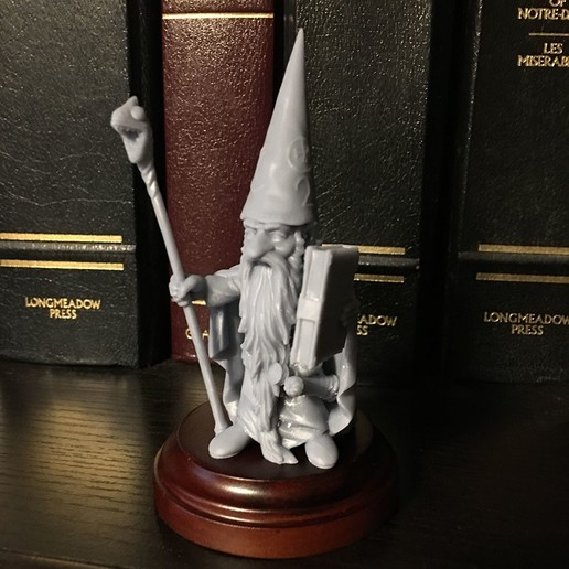 Download STL file Gnome Wizard • Object to 3D print, Zandoria