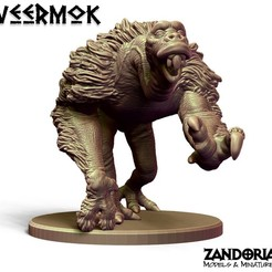 Gallery031.jpg Download STL file Veermok • Design to 3D print, Zandoria