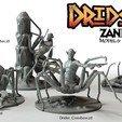 3D print model Driders, Zandoria