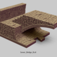 Objet 3D PuzzleLock Égouts et sous-cité, Zandoria
