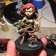 Download 3D printer model Halfling Ranger, Zandoria