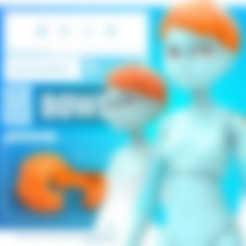Free STL files Quin G1: Mop1 - 3DKitbash.com, Quincy_of_3DKitbash