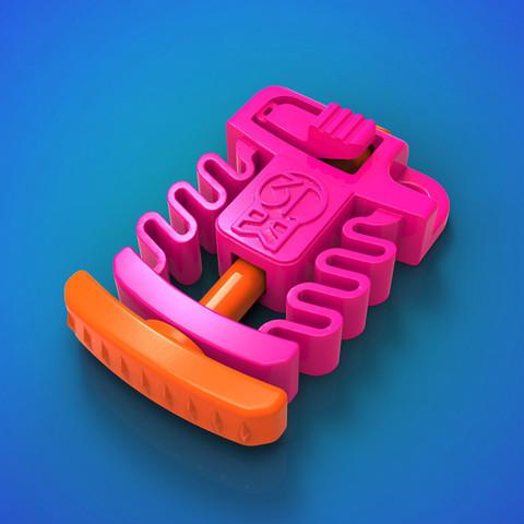 archivos stl 3DK Launcher - 3DKitbash.com - Impresión y reproducción gratis, Quincy_of_3DKitbash