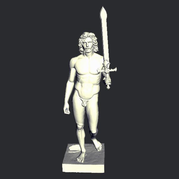 j4.jpg Télécharger fichier STL gratuit Jon Snow • Objet imprimable en 3D, pooyanofsky