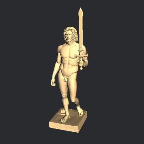 Download free 3D printing models Jon Snow, pooyanofsky