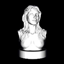 Free 3D printer model Jennifer Lawrence , pooyanofsky