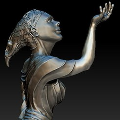 Download 3D printing templates female statue, zion72