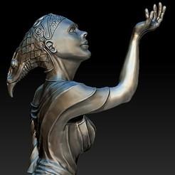 STL files female statue, zion72