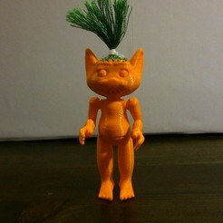 Download free 3D printer designs Troll to go up and sew, Jaenne