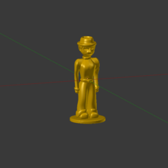 Download free 3D printer files Male Token, Jaenne
