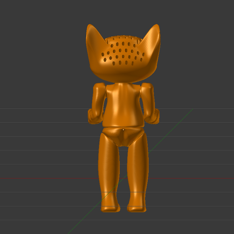 carotte3.png Download free STL file Troll to go up and sew • 3D printing object, Jaenne
