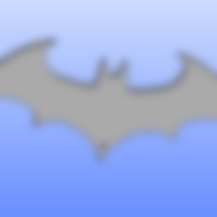Free 3D file Logo batman key holder, angedemon888