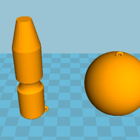 Free 3D printer designs bilboquet, angedemon888