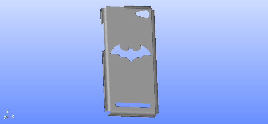batman.png Download free STL file Archos 45b Neon case • Object to 3D print, angedemon888