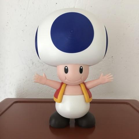 Modelos 3D gratis Sapo de Mario juegos - multicolor, Snoop827