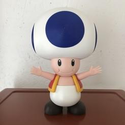 STL gratuit Toad from Mario games - Multi-color, Snoop827