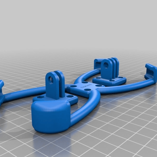 Download free 3D printer designs My Customized Smartphone Tripod Holder for Nokia 8, Joep