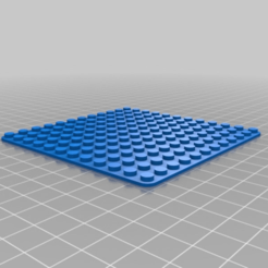 Télécharger fichier imprimante 3D gratuit Plaque de base Lego 12x12, Joep