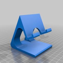 Descargar Modelos 3D para imprimir gratis El soporte del teléfono superior, Joep