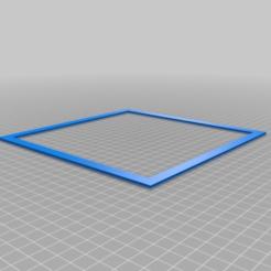 Descargar modelos 3D gratis Escuadra de nivelación de camas 200 x 200 mm, Joep