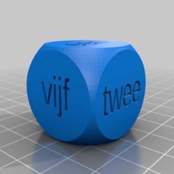 Télécharger fichier 3D gratuit Dobbelsteen tekst, Joep