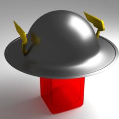 3d printer designs Flash's Helmet, EsqConcept
