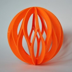 Download free STL file Eumakers Xmas ball, EUMAKERS