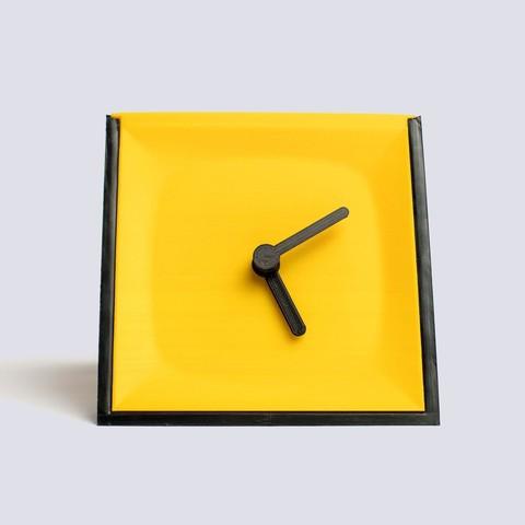 Times_Square_2_03.jpg Download free STL file Times Square #2 - Tabletop clock • 3D print model, EUMAKERS