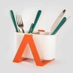 Free 3D printer model Swing - Cutlery Drainer, EUMAKERS