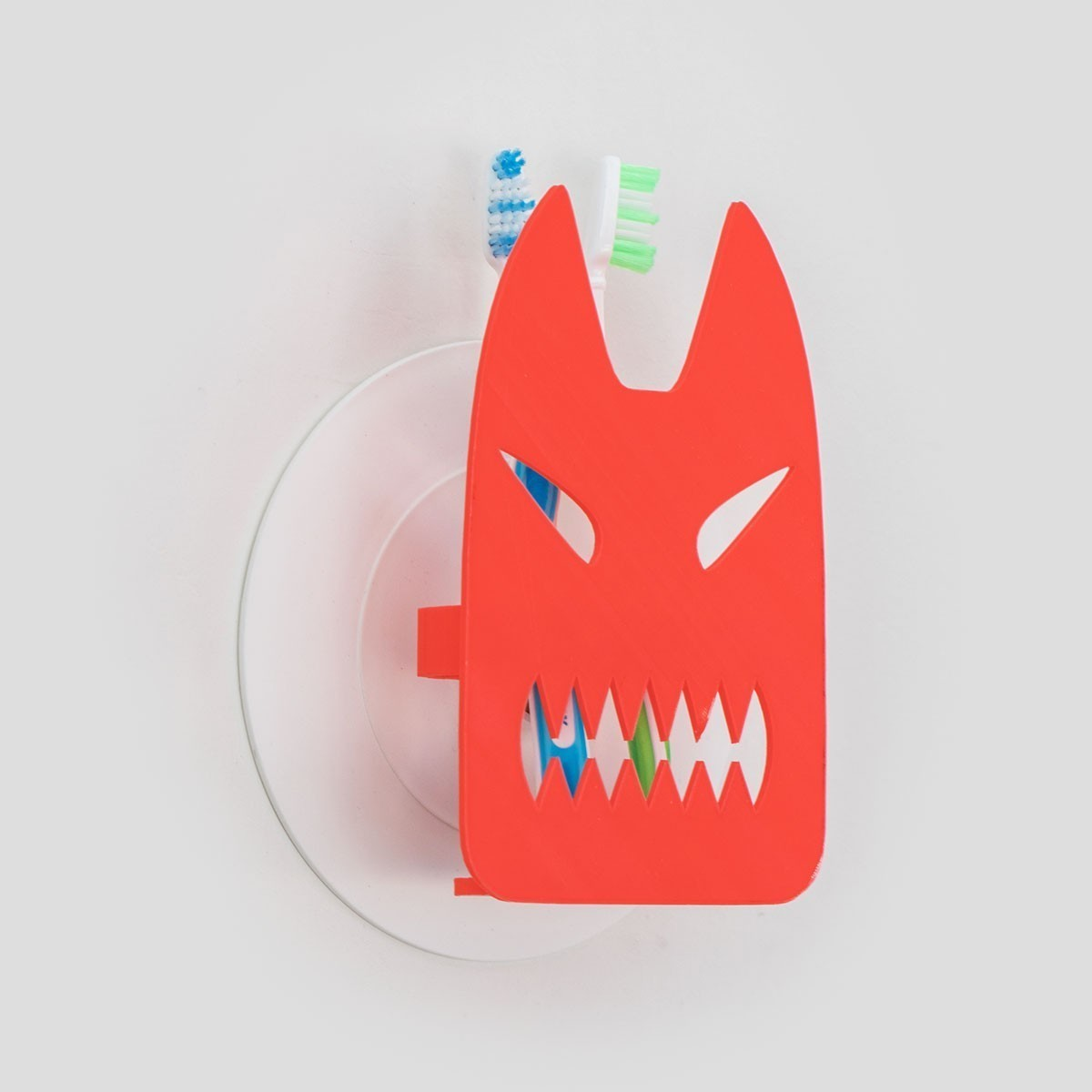 toothy_03.jpg Download free STL file Toothy - Toothbrush Holder • 3D printable design, EUMAKERS