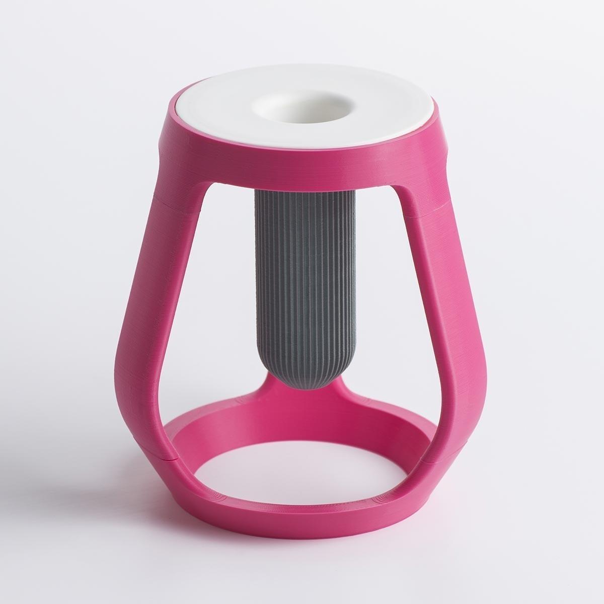 gravity_04.jpg Download free STL file Gravity - Flower vase • 3D printing object, EUMAKERS