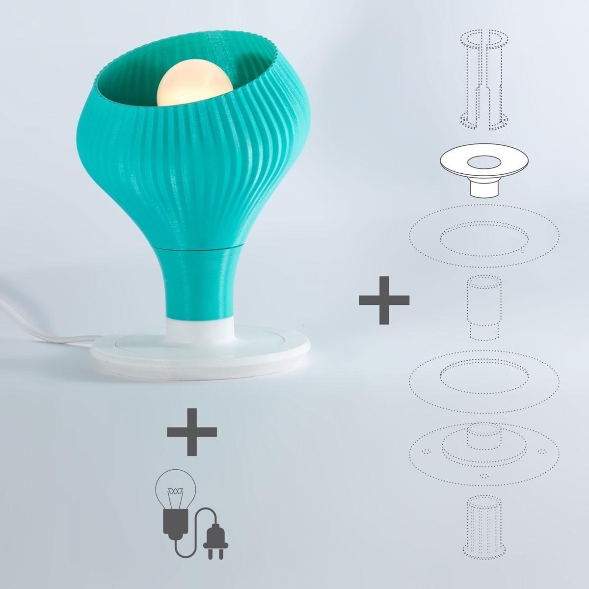 coralight_02_rev.04.jpg Download free STL file Coralight: Table Lamp • Design to 3D print, EUMAKERS