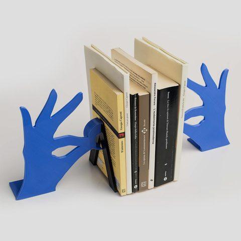 Biblio_01.jpg Download free STL file Biblio - Bookends • 3D printable model, EUMAKERS