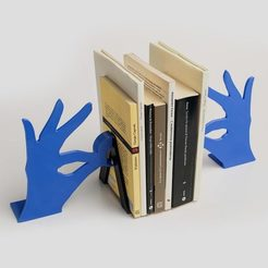 Free STL files Biblio - Bookends, EUMAKERS