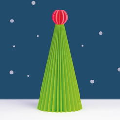 Download free 3D printing templates Eumakers XMAS Tree, EUMAKERS