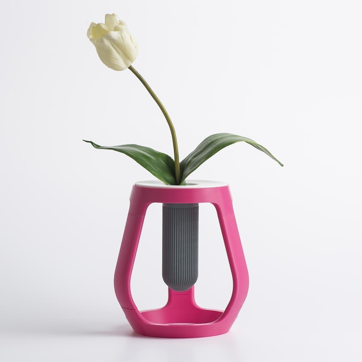 gravity_01.jpg Download free STL file Gravity - Flower vase • 3D printing object, EUMAKERS
